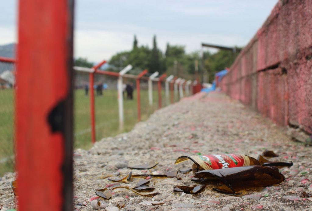 Prekinuta utakmica Crvena stijena - Zabjelo