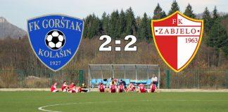 PREGLED: FK Gorštak - FK Zabjelo (VIDEO)