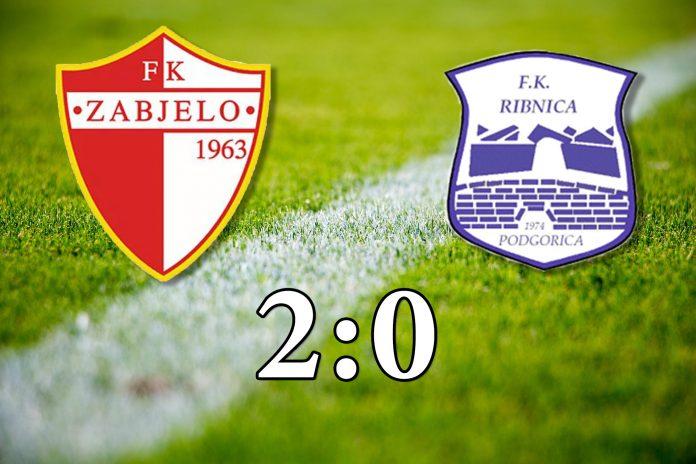 PREGLED: FK Zabjelo - FK Ribnica (VIDEO)