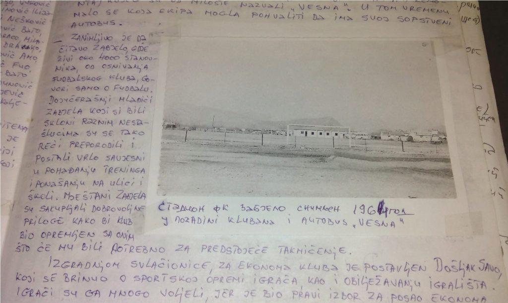 FK Zabjelo: Od livade do stadiona (2)
