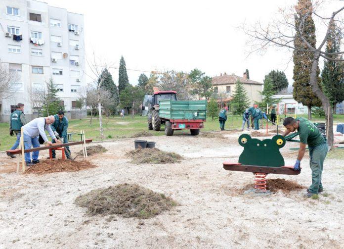 Obnovljeno igralište iza Drpljanke