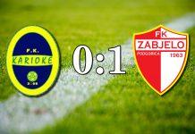 PREGLED: FK Karioke - FK Zabjelo