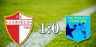 PREGLED: FK Zabjelo - FK Polet stars (VIDEO)