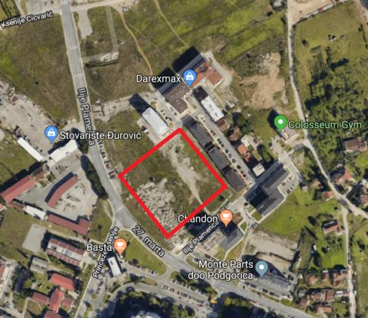 Glavni grad prihvatio zahtjev za izgradnju parka na Zabjelu