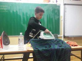 U školi uče i kućne poslove